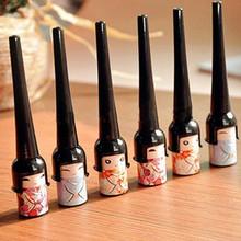 Cosmetic Waterproof Liquid Eyeliner Pen Makeup in Cute Bottle Women Beauty Care Eye Liner