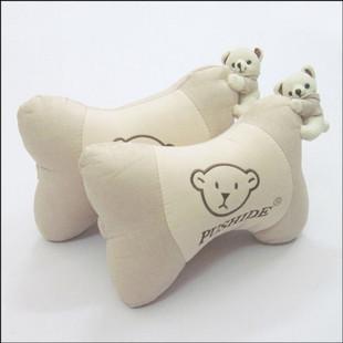 Car pillow neck pillow bear car bone pillow car comfortable cushion headrest<br><br>Aliexpress