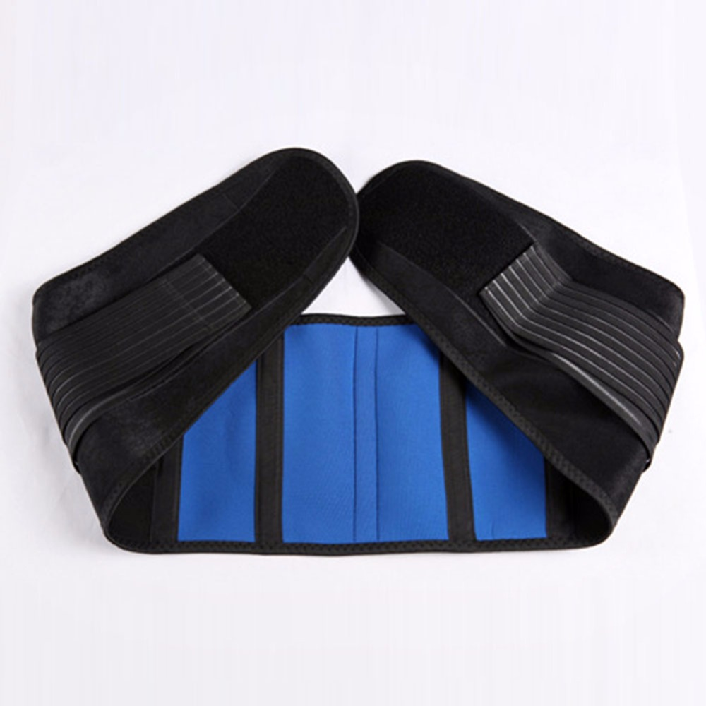 product Workers Women Men Adjustable Neoprene Lumbar <font><b>Support</b></font> Pain Relief Lower Back Belt Brace