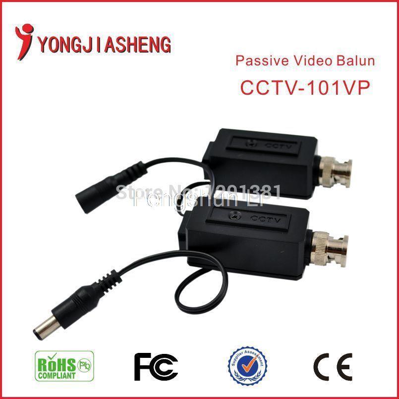 5Pairs Twisted BNC passive video balun CCTV DVR camera UTP Balun(China (Mainland))