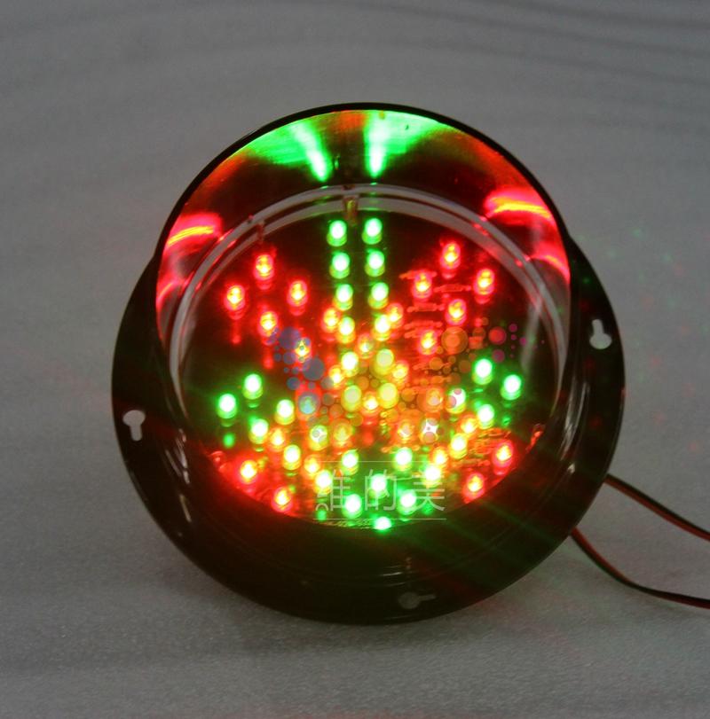 WDM 12V 125mm Mini Kids LED Traffic signal Light Stop and Go Sign(China (Mainland))