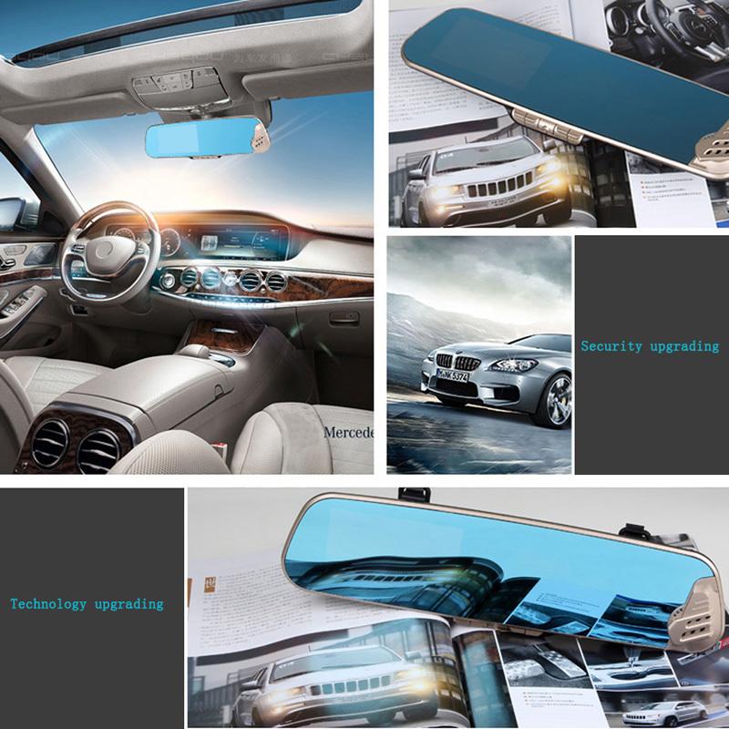 2015 New Anion Air Purifier Rear view Mirror Car DVR Dash Cam Recorder 12 Mega Pixel  E#A<br><br>Aliexpress