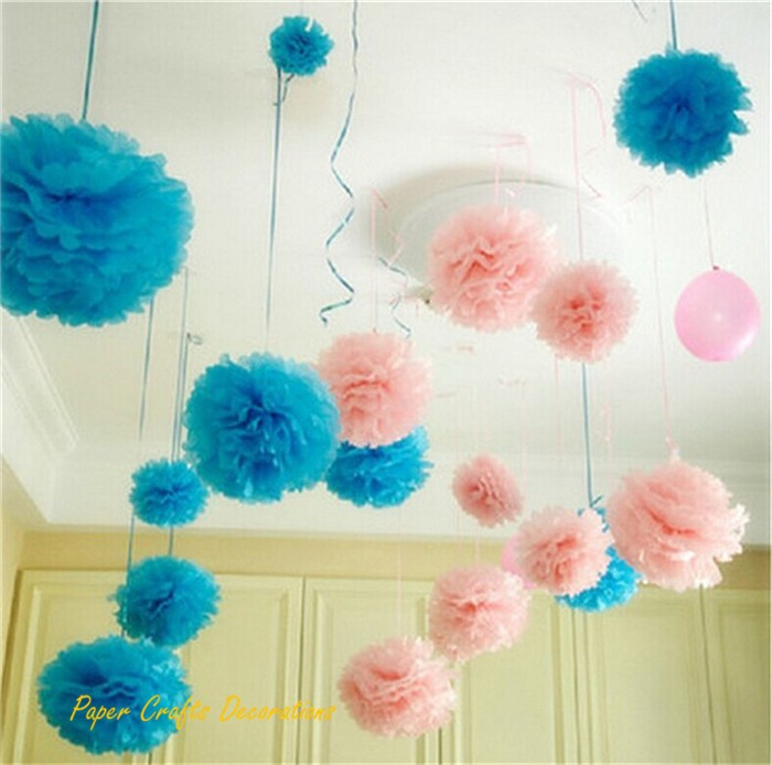 -10pcs-6-Tissue-paper-pom-poms-artificial-flowers-balls-Birthday-Wedding-decorations-kids-party-supplies