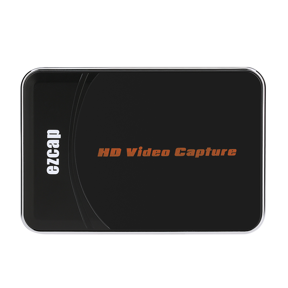 EZCAP HD Video Game Capture Box HDMI YPbPr Recorder One-clink Record Into USB Flash For XBOX 360/One PS3 For WII U 1080P Rec(China (Mainland))