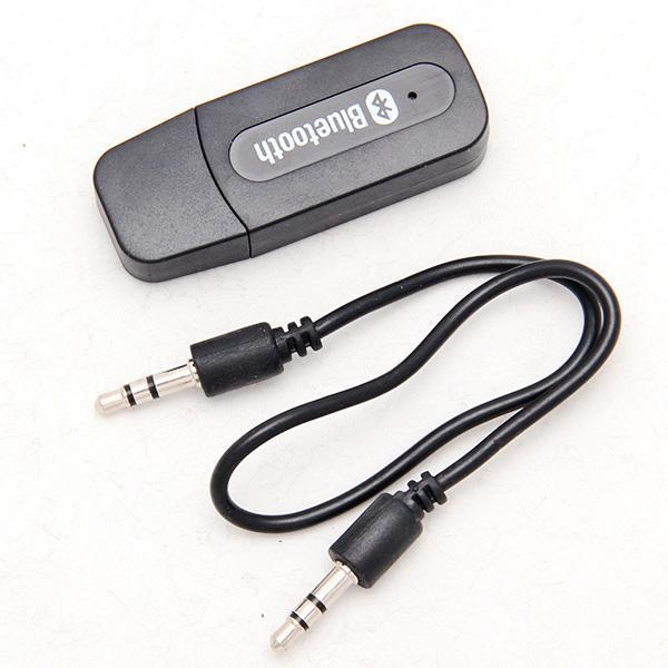 USB Bluetooth Music Receiver Adapter 3.5mm Stereo Audio for IOS & android smart phone Mp3 free shipping