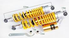 DHL 320MM Yellow RFY air gas Shock Absorber Fit to XJR400 1200 1300 XV 250 Virago XV535 XV125 XV250 Drag star Universal