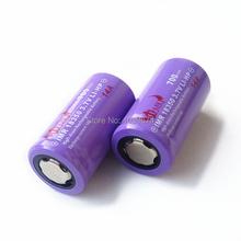 Аккумуляторная высокой мощности 14а разряда IMR 18350 3.7 В 700 мАч литий-ионный аккумулятор сотового электронные сигареты аккумулятор