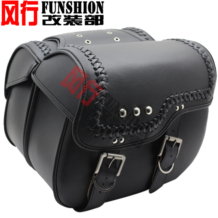 Free shipping high quality motorcycle side bag satchel bag Bag side saddle bag hanging box side of the box side box<br><br>Aliexpress