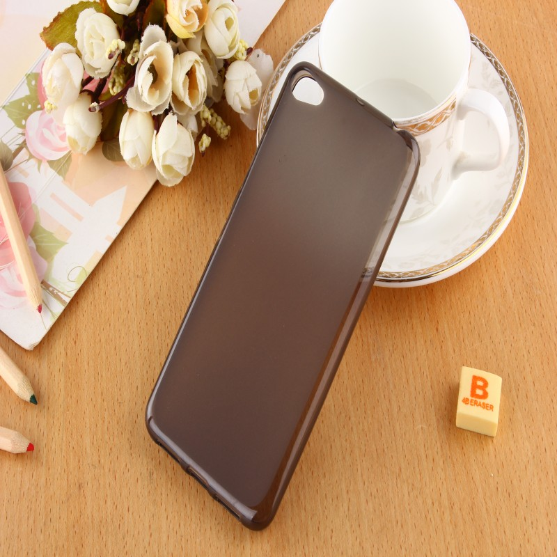 Hot Sale!New Candy color soft silicone TPU gel back cover case for Lenovo S60 mobile phone case(China (Mainland))