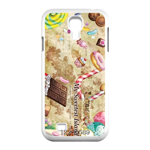 Retro Vintage Sweetheart cake Canada Designs front cover clone caso Hard plastic case for Samsung Galaxy S4 mini Lady(China (Mainland))