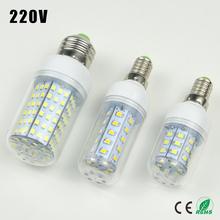 1X 30 36 48 56 69 89 102 126 E27 E14 220V LED Corn light Bulb Replace Compact Fluorescent lamp (7W 12W 15W 20W 25W 30W 35W 40W)(China (Mainland))