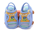 2016 Summer cotton orange baby girl shoes blue soft sole new born baby boy shoes infant