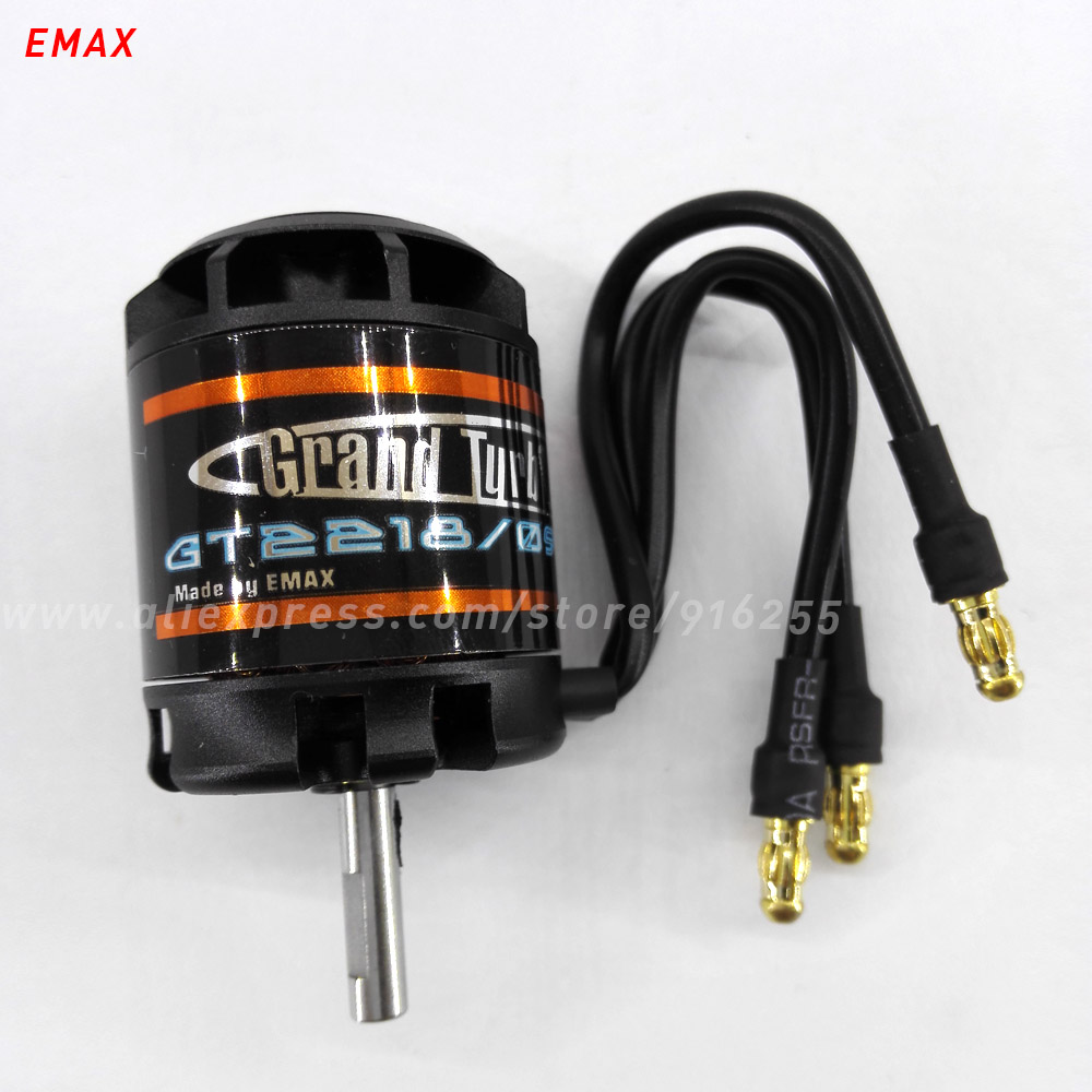 EMAX rc electric brushless motor model airplane 930kv 1000kv 1100kv outrunner GT 4mm shaft 2-3s for aircraft electric vehicle(China (Mainland))