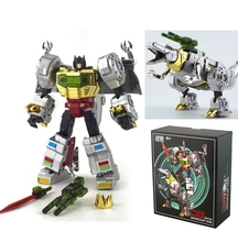 In Stock Transformation TF Masterpiece MP-08 WB-03F Grimlock PVC Action Figure Deformation Robot KO Version