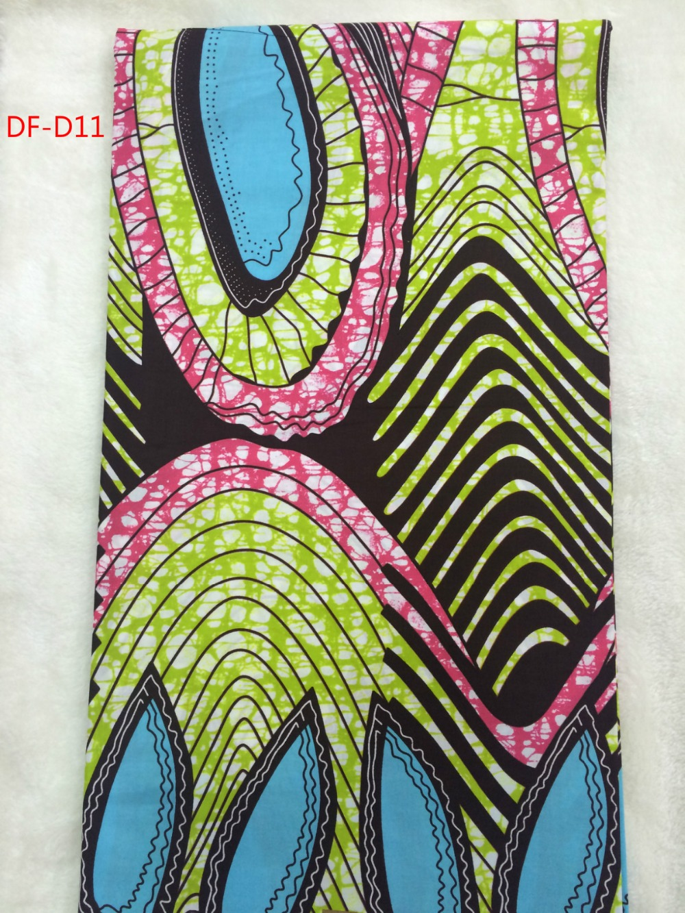 High quality african wax prints fabric real dutch wax for Sewing fabric for sale