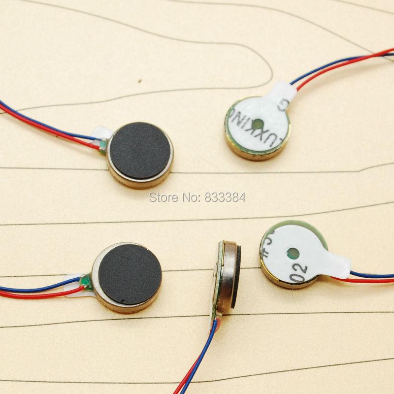 High Quality 50pcs Mini Coin Vibration Micro Motor