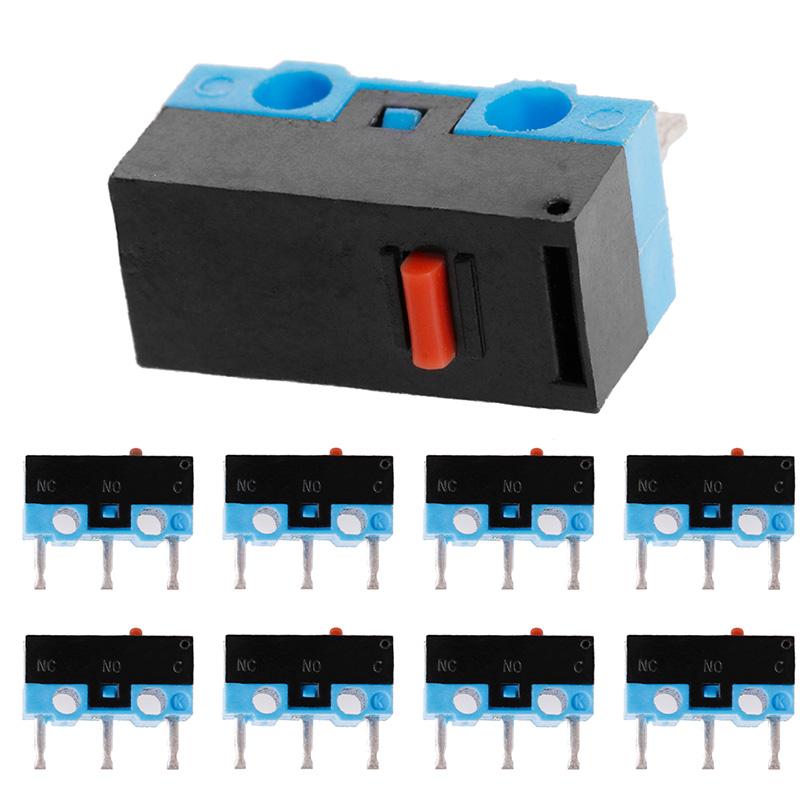 10PCS Button Switch 3Pin Mouse Switch Microswitch For RAZER Logitech G700 Mouse(China (Mainland))