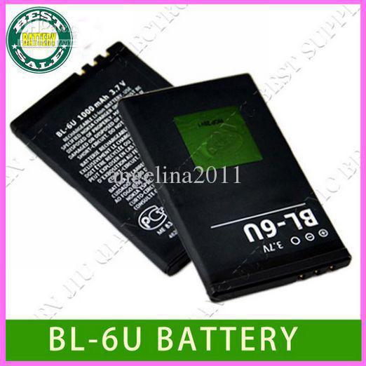 battery BL-6U for Nokia cell phone 8820 8820E 8830E from factory(China (Mainland))