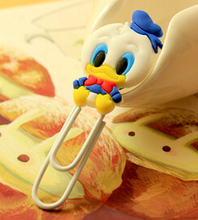 Cute Cartoon Characters Paper Clip Bookmark Promotional Gift Stationery School Office Supply Escolar Papelaria(China (Mainland))