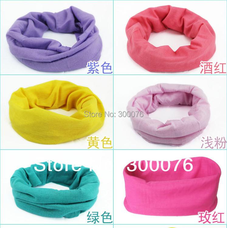 Outdoor magic headband scarf multifunction bandanas headwear neck warm plain color(China (Mainland))