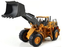 RC forklift  truck 1:10   2.4G   Large remote controlled truck Bulldozer Truck Forklifttoy for kids gift(China (Mainland))