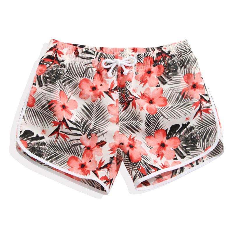 2017 Boardshorts Women Summer Shorts For Swimming Women Board Shorts Swimwear Quick Dry Bermudas Womens Surf Beach Shorts Pants(China (Mainland))