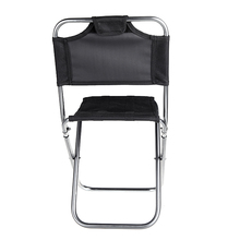 Portable Fishing Chair Multifunctional Aluminum Oxford Cloth Folding Chair Outdoor Fishing Camping with Backrest Carry Bag(China (Mainland))