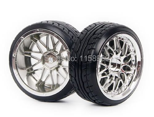 RC Plastic Hard Tires Drift Tyre Wheel Rim 1008-9014 Fit RC HSP HPI 1:10 On-Road Drift Car(China (Mainland))