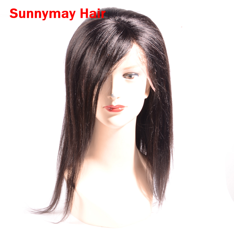 Sunnymay wigs grade 5a unprocessed cheap 100% brazilian virgin hair body wave glueless full lace wigs with bangs for black women<br><br>Aliexpress