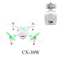 Cheerson CX-30 CX-30w 4CH 2.4GHz 4-Axis Gyro FPV Mini Drone RC Quadcopter UFO HD Camera Video Photo Wifi Real Time Video Drones