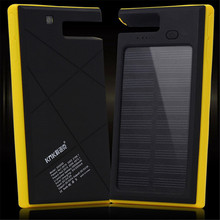 20000mah Portable Solar Power Bank Dual-USB Solar Battery Charger for Cell Phone with LED flashlight 800539