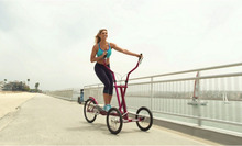 Tricycle upright cycle exercise bike Elliptical bike Cycling machine pedicab exercise bicycle 1 speed and 3 speed (China (Mainland))