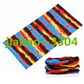For Free Shipping 10pieces lot100 polyester Microfiber Flower Multifunctiona Seamless tube Bandana