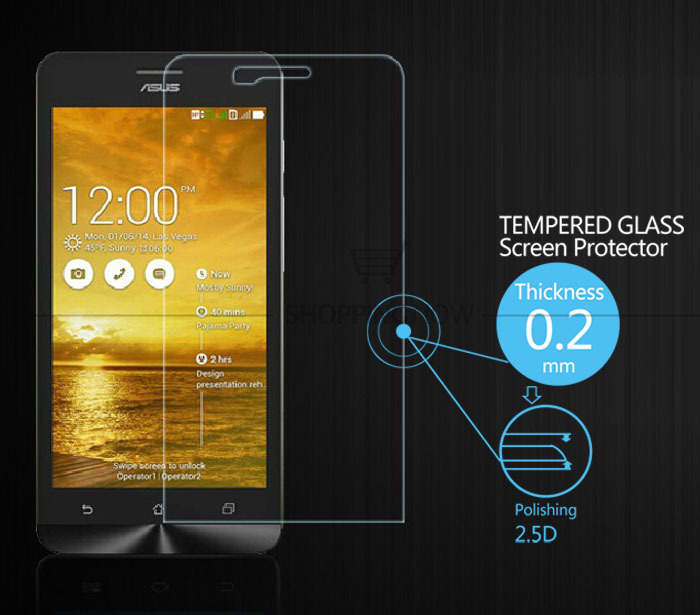 2016 New Explosion-Proof High Clear Tempered Glass Screen Protector For ASUS ZENFONE 5 Anti Shatter Screen Protector Film
