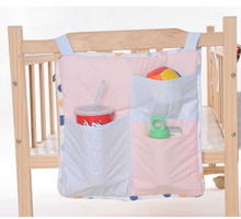 Baby Bed Chair Hanging Bags Storage Bottle Diapers Clothes Organizer Bedding
