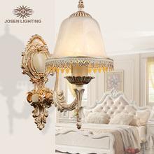2015 Recién llegado venta popular lámpara pared auténtico zinc de época luz de pared hecha a mano dorada alta calidad novedad luz baño(China (Mainland))