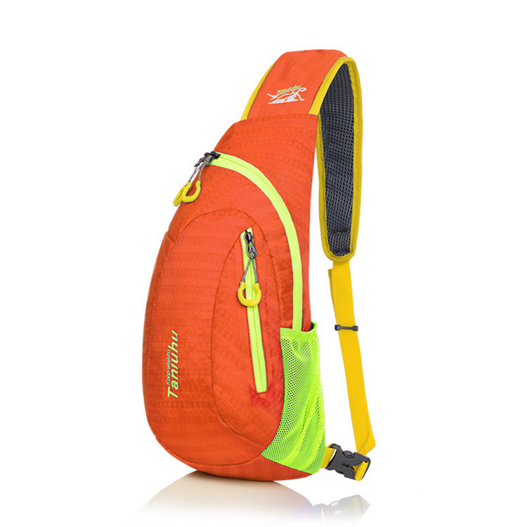 Waterproof Messenger Bag Camping Equipment Outdoor Sport Nylon Wading Chest Pack Cross body Sling Single Shoulder