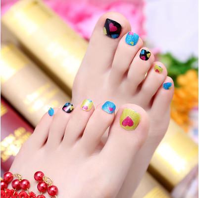 toe 11# hot sale new fashion beauty manicure pedicure, nail stickers, nail art(China (Mainland))