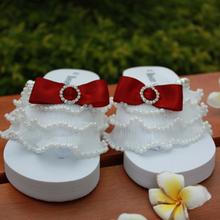 Summer rangzieb 2013 chiffon white black pearl women's shoes sparkling diamond platform shoes platform wedges flip flops shoes(China (Mainland))