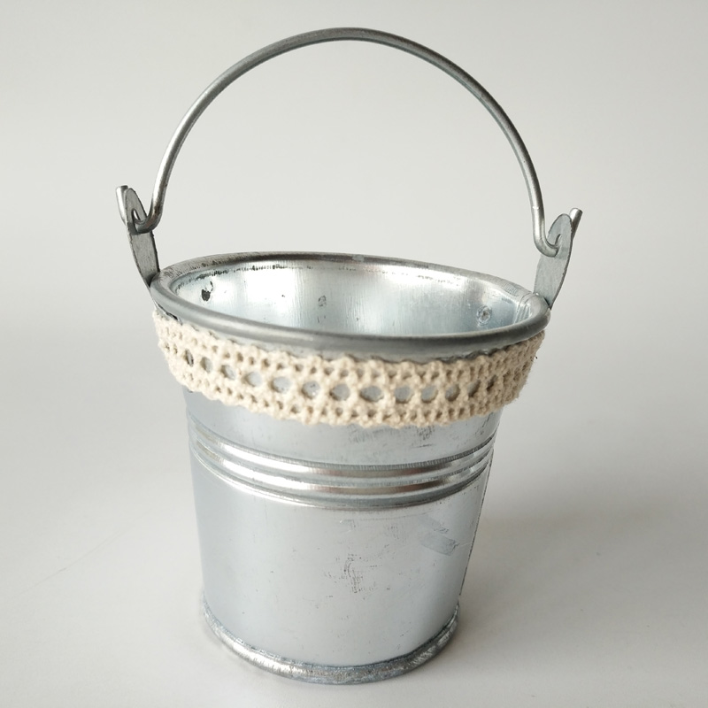 Online buy wholesale small metal pail from china small for Tiny metal buckets