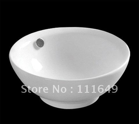 Ceramic Small Counter top Wash hand bowl basin Cabinet Basin Sink ...