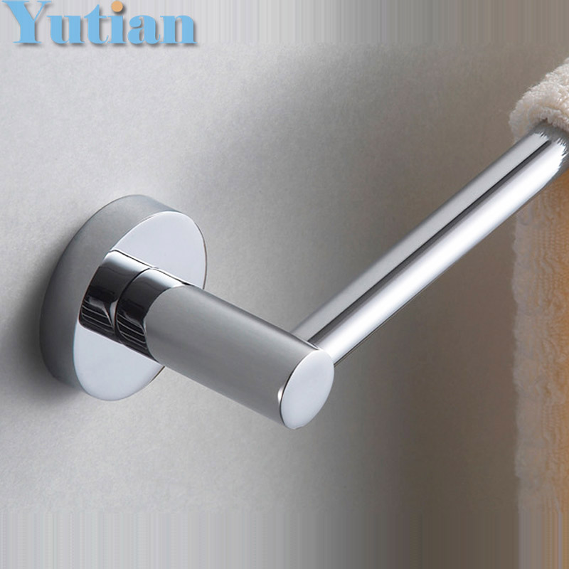 Free Shipping, high quality 304# stainless steel bathroom accessory,single Towel bar,Towel rail, Towel holder YT-10996-A(China (Mainland))