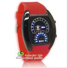 New Fashion Second Generation RPM Turbo Blue Light LED Digital Wrist Watches Michael Watch