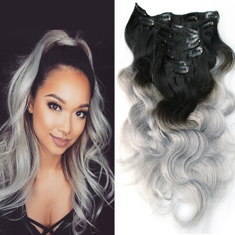 Ombre Clip In Hair Extensions Online Remy Hair Review