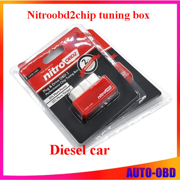 2015NitroOBD2 Diesel Car Chip Tuning Box Plug and Drive OBD2 Chip Tuning Box More Power / More Torque NitroOBD2 Chip Tuning Box(China (Mainland))