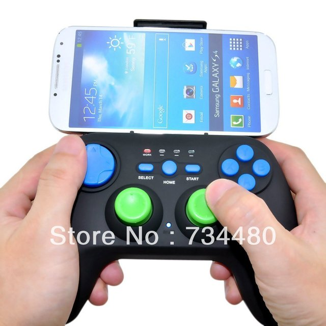 Game Controller Gamepad for Android/Bluetooth Wireless(Black)