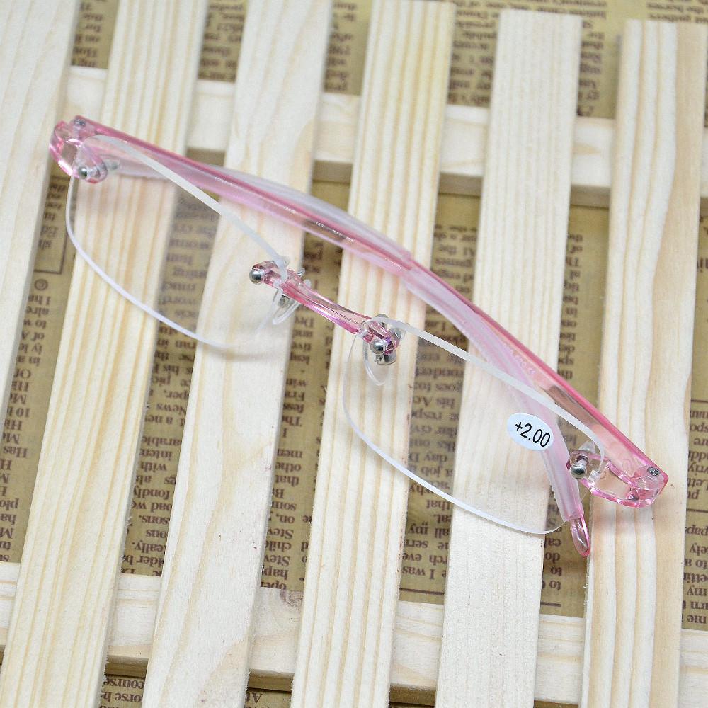 2017 new arrival hot sale women's men's TR90 super light rimless Reading presbyopic presbyopia Glasses eyewear gift idea 620