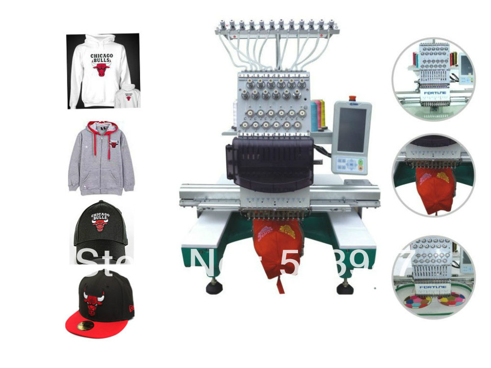 Single Head CapT Shirt Embroidery Machinein Embroidery