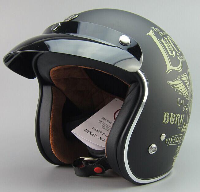 motorcycle helmet scooter helmet, open face helmet TORC brand motorcycle helmet 3/4 helmet ECE approved