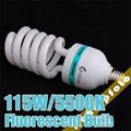 Low Price Photo 115W 5500K 220V Fluorescent Daylight Bulbs Lamps Video Light Photographic Lighting Hot Selling